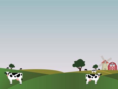 Farm Illustration branding abstract vector design milk cow infographics illustration