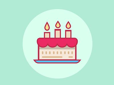 Birthday Cake Lottie lottie illustration design after effects animation