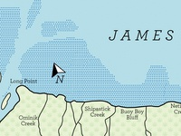 James Bay Map