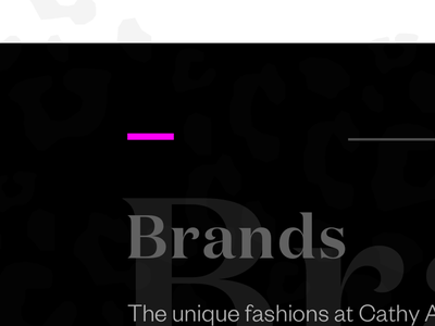 Boutique Fashion Store Website founders grotesk domaine display website ui typography