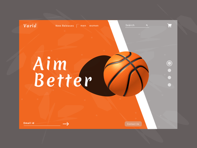 Product Page - Sports animation website typography graphic design web ux ui illustration design art
