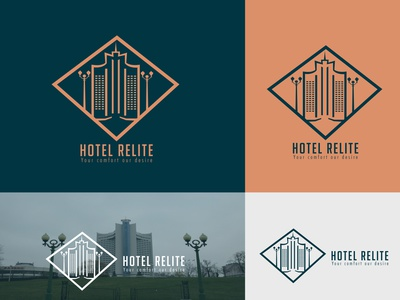 Minimal Hotel & Resort Logo logo ogo ideas brand identity minimalistic illustration mordern logo logo design graphic design branding