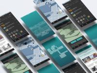 UI Design for Art Institute of Chicago App
