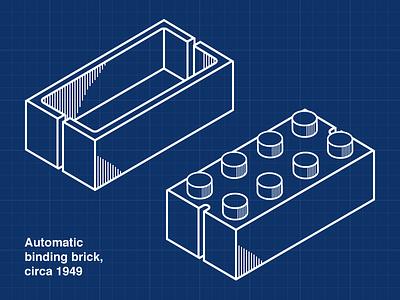 Automatic Bindding Brick lego