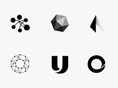 Random unused logo shapes