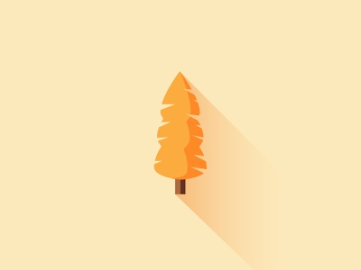 Tree Illustration Nr. 2 icon logo minimalist vector illustration minimal vector illustration flat design