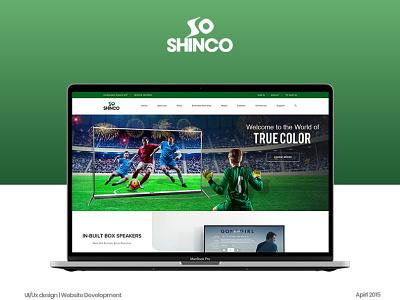 Shinco LED TV : : Website Design ux ui hardenrahul ecommence led tv website led tv website shinco website design shinco website design ecommerce website design website design branding design