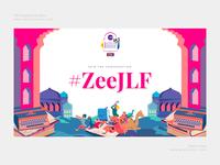 ZeeJLF 2019 hashtag wall design