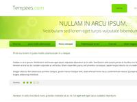 Blog Style Homepage Freebie