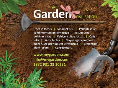 Garden Studio Flyer FREE