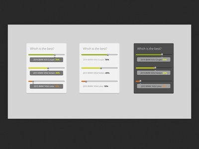 Multi Colored Poll Freebie poll select multi color free psd