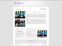 Web bookaband artist