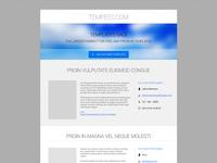 Freebie: Simple Website Homepage
