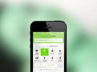 Health search app