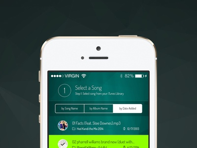Freebie: Song Selection Screen