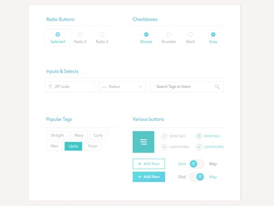 Freebie: UI Elements
