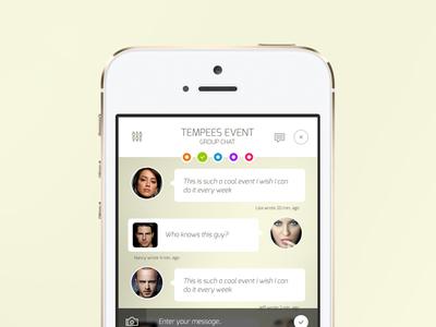 Freebie: iOS Chat Screen