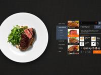 Restaurant order interface