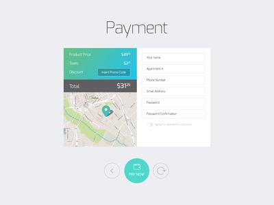 Freebie: Payment Input Form