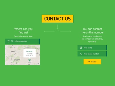 Freebie: Full width contact section contact input cta button map pin form free psd