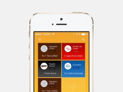 Freebie: Voucher App List