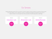 Freebie: Service Pricing tabs
