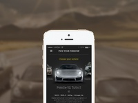 Car selection app