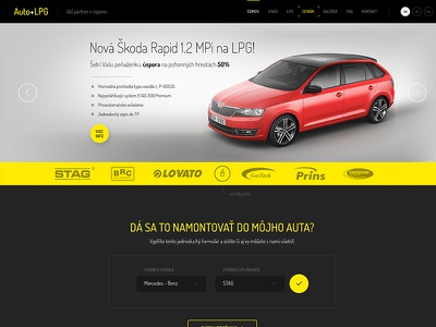 AutoplusLPG Website project car auto lpg cng gas retrofit conversion web automotive plyn