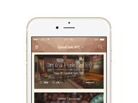 Coffeeshop listing app
