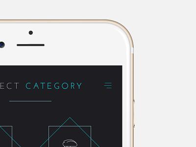 Shopping App contest design sample mockup iphone ios app shopping