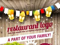 Restaurant flyer a5