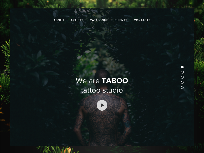 Daily UI: Day 3 - Landing Page layout website webdesign web minimalistic design visual simple page landing