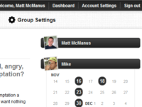 Accountability Group navigation