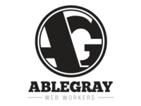 Attempting a logo for ableGray