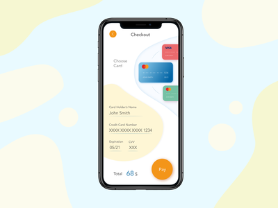 Credit Card Checkout daily ui 002 minimal daliy ui dailyuichallenge ui design dailyui uidesign ui