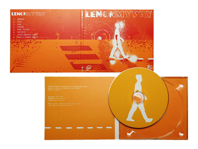 CD cover LENONMYWAY illustration art project vector cd artwork cd packaging cd cover cd design kalinowski