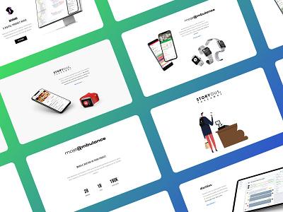 Website iDevBand.com portfolio clean website webdesign website simple clean
