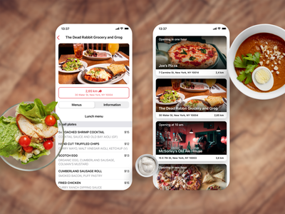 #kdesenajim - Take-away app food app ui app development company restaurant app food app ios app czechdesign app design app