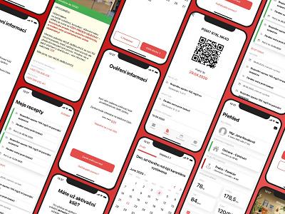 OnlineAmbulance - General practitioner app interface czechdesign app development company ios app healthcare app telehealth healthcare app design