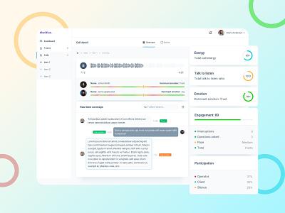 Discidius interface dashboard monitoring dashboard web app ux ui interface monitoring app design
