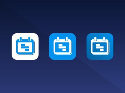 Shifter icon variants feedbackplease app icon design logo icon calendar app calendar app icon ios app