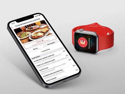 #kdesenajim Food Delivery App - Apple Watch support ios app application food delivery application restaurant app food app apple watch food delivery app