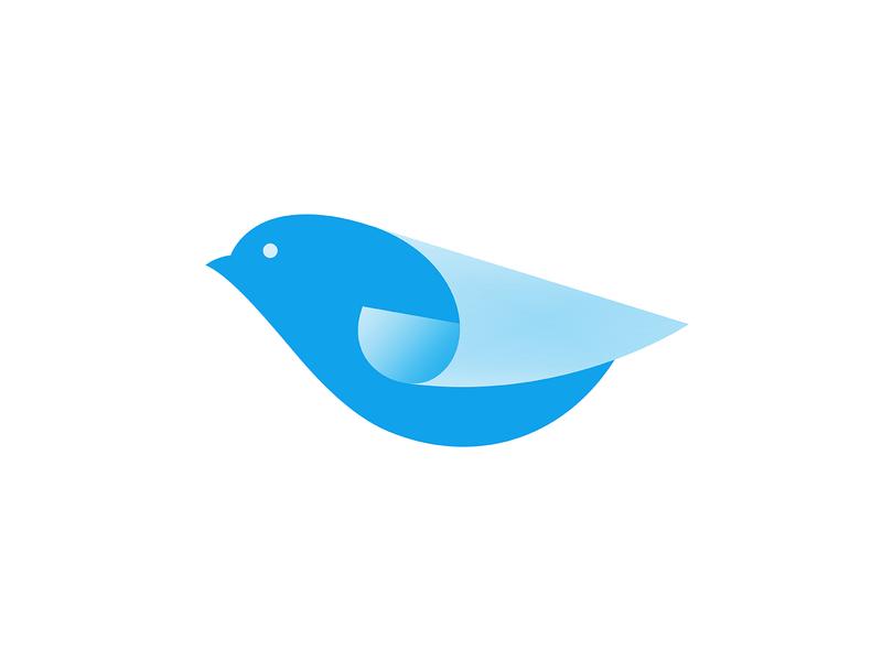 Paper Bird Logo visual identity clean logo brand design graphic design identity logo vector symbol mark brand gradient logo modern logo simple logo logo design logo designer roll paper bird branding icon logo