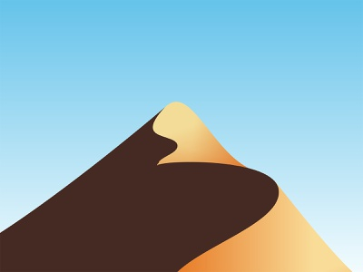 Eagle Desert hawk bird hill adventure mountain egypt panorama land scene sahara sand outdoor nature landscape sky shadow silhoutte desert eagle illustration