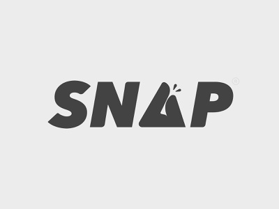 SNAP typography branding logo type