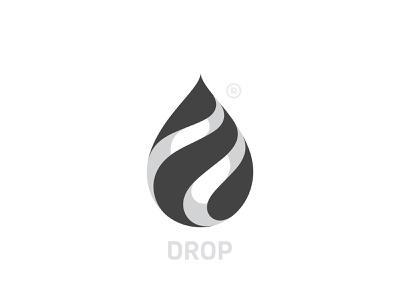 Drop Logo branding drop logo