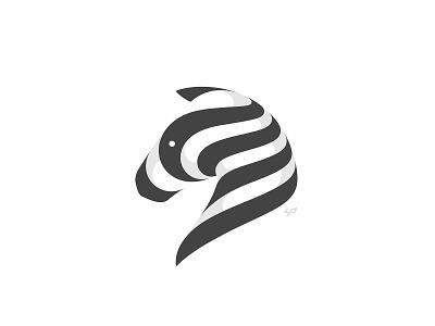 Zebra Logo animal horse zebra branding logo