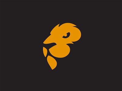 Lion Logo tshirt poster simple business company symbol mark strong power orange animal wild cat tiger leo jungle king branding lion logo