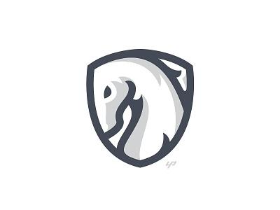 Horse animal horse branding logo