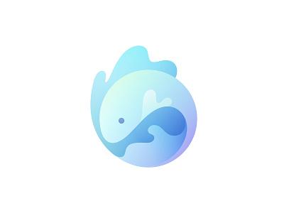 Betta Fish aquarium swim mascot colorful hobby tail exotic pet branding water sea beta fish fish logo